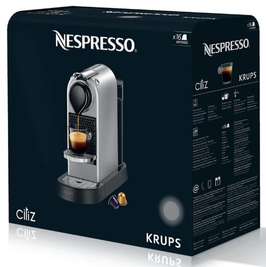 Acheter Nespresso Citiz Titane