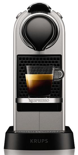 Test Nespresso Citiz Titane
